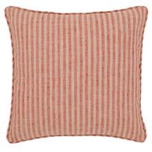 Adams Ticking Brick Indoor/Outdoor Decorative Pillow