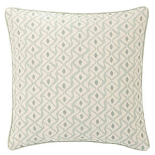 albero linen pearl blue decorative pillow