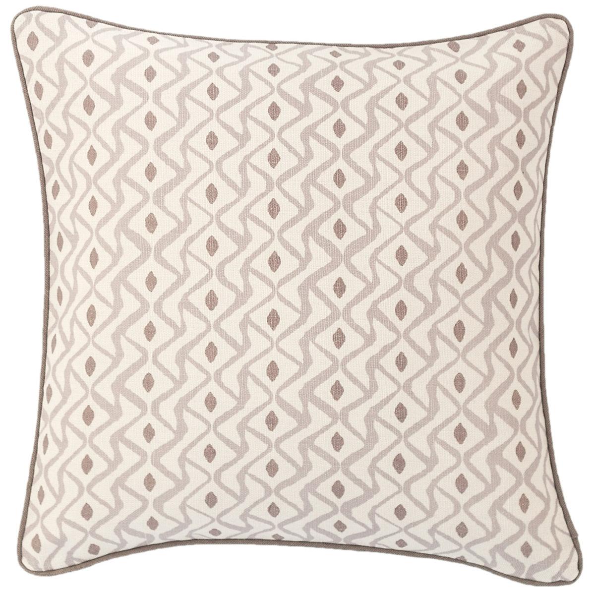 Albero Linen Zinc Decorative Pillow Luxe