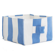 Alex French Blue Square Storage Bin