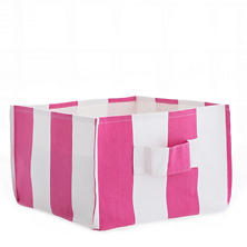 Alex Fuchsia Square Storage Bin