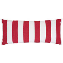 Alex Red Decorative Pillow