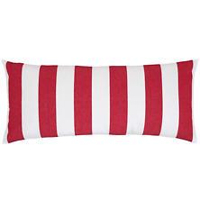 Alex Red Decorative Pillow