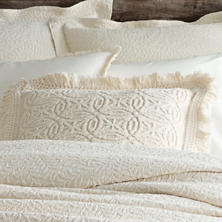 Anka Ivory Decorative Pillow