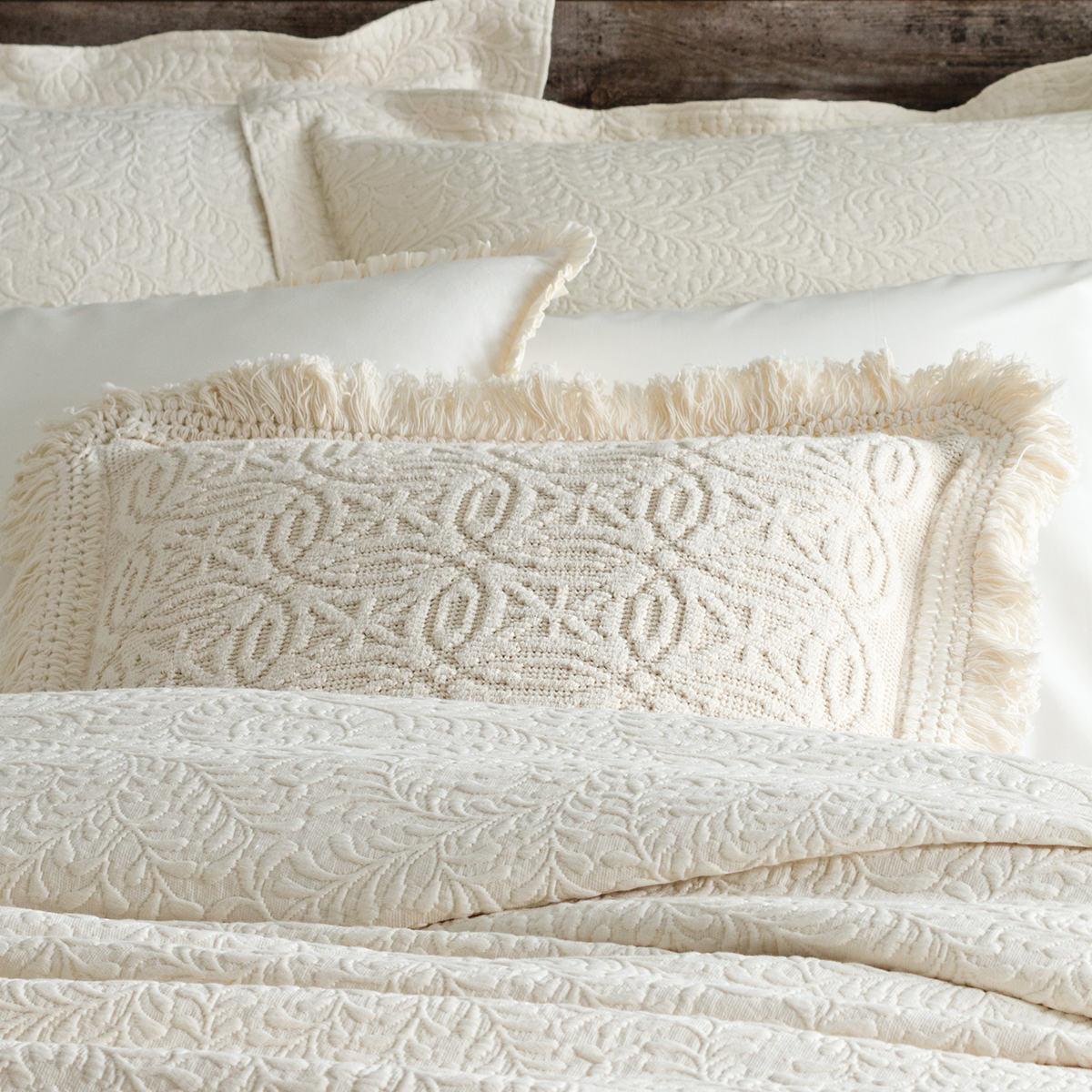 Anka Ivory Decorative Pillow