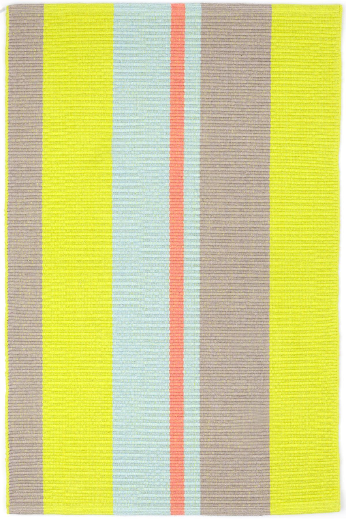 Antibes Stripe Woven Cotton Rug