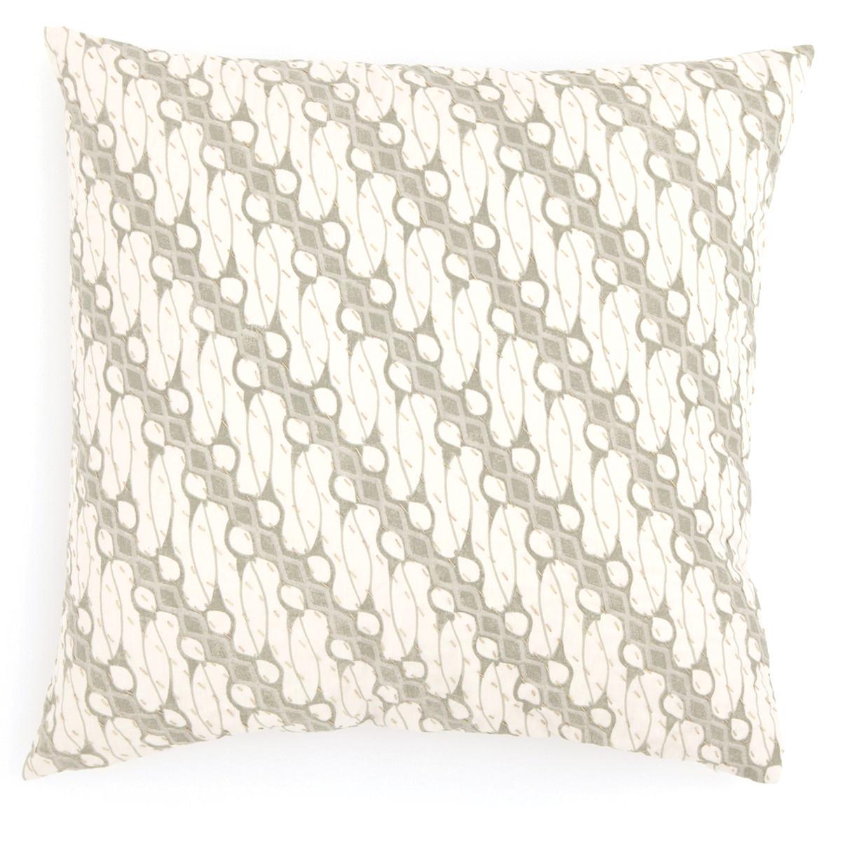 Antique Batik Green Decorative Pillow