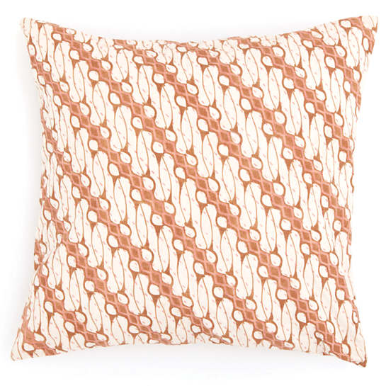 Antique Batik Pink Decorative Pillow