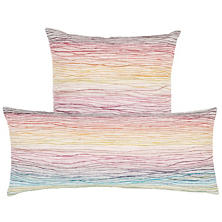 Aquarelle Embroidered Decorative Pillow