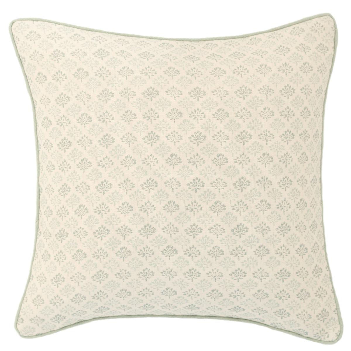 Aria Linen Pearl Blue Decorative Pillow