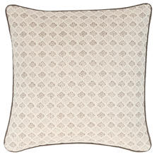 Aria Linen Zinc Decorative Pillow