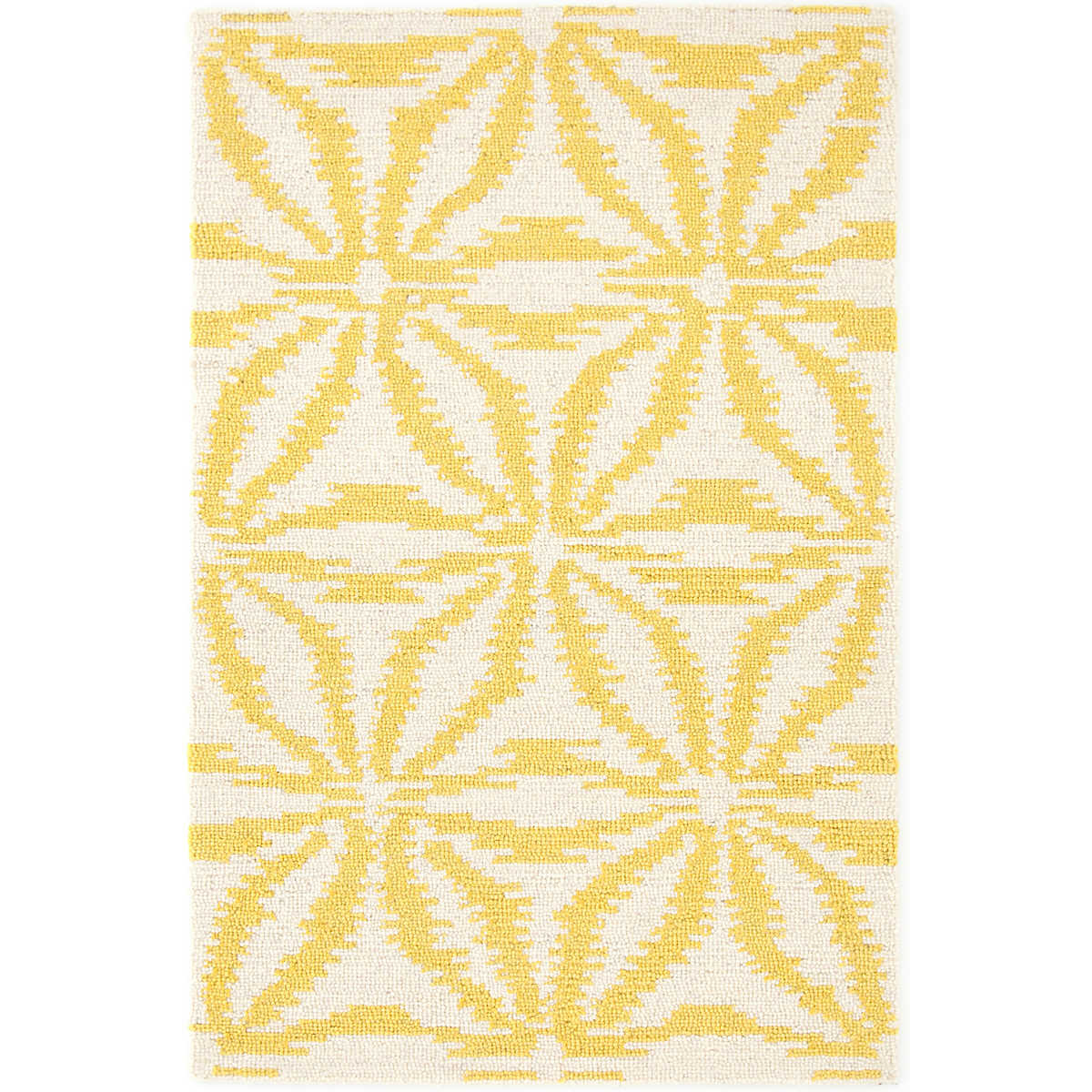 Aster gold wool micro hooked rug dash albert for Dash and albert blankets