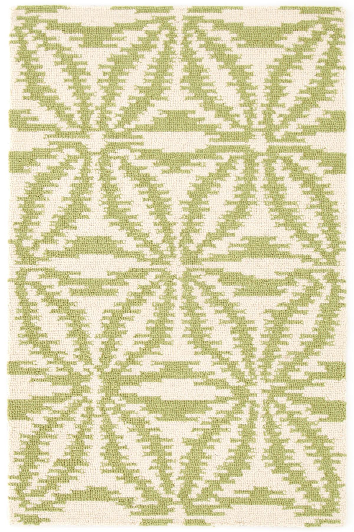 Aster Sage Wool Micro Hooked Rug