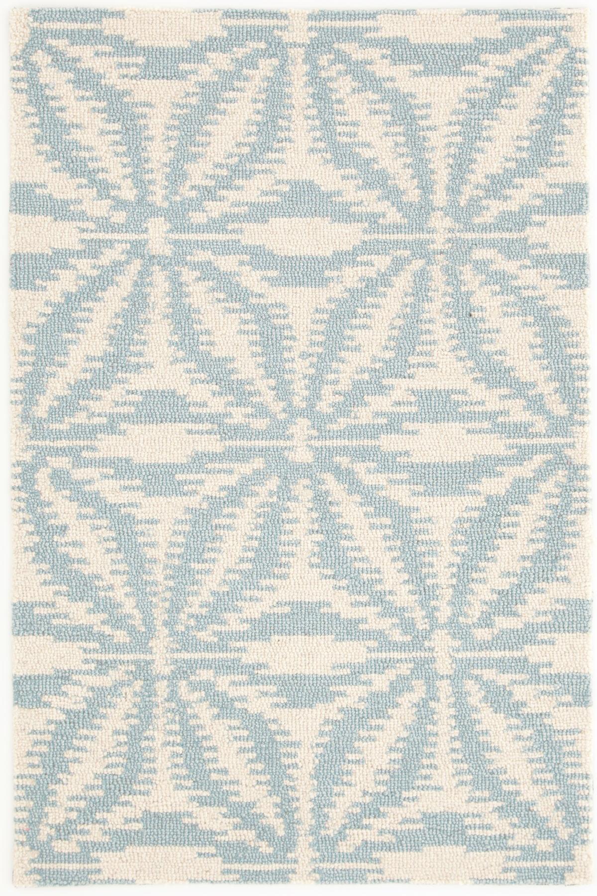 Aster Sky Wool Micro Hooked Rug