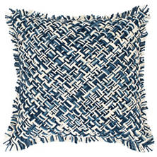 Bait Loop Blue Decorative Pillow