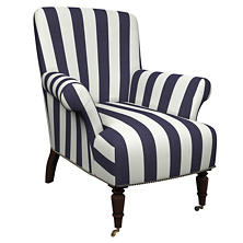 Alex Indigo Barrington Chair
