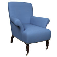 Estate Linen French Blue Barrington Chair
