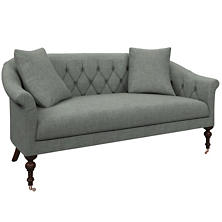 Canvasuede Ocean Becket Loveseat
