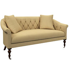 Estate Linen Wheat Becket Loveseat