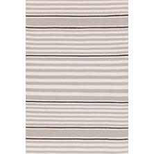 Beckham Stripe Platinum Indoor/Outdoor Rug