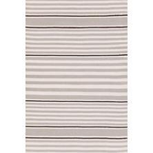 Beckham Stripe Platinum Indoor/Outdoor Rug