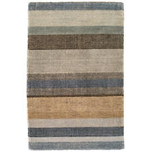 Birchwood Stripe Hand Knotted Rug