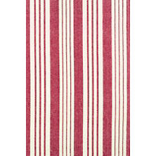 Birmingham Red Woven Cotton Rug