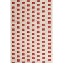 Blanco Red Jute Woven Rug