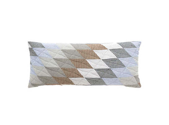 Blanket Patchwork Quilted Decorative Pillow