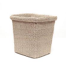 Bleached Chelston Rectangular Wastebasket