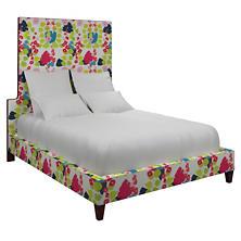 Block Floral Bright Regency Bed