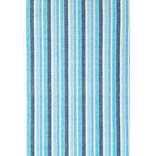 Bluemarine Ticking Woven Cotton Rug
