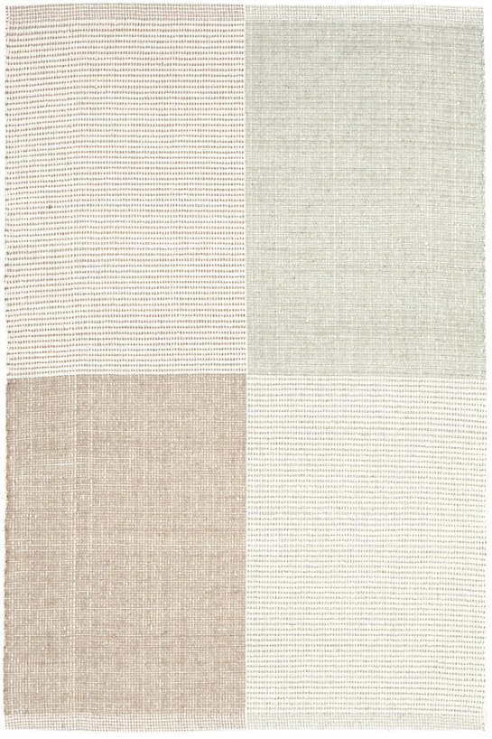 Bo Pale Green Woven Cotton Rug