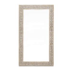Bone/Grey Dustin Mirror