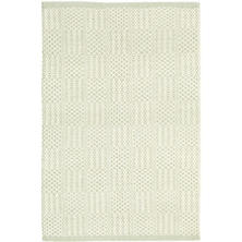 Bonnie Pale Green Woven Cotton Rug