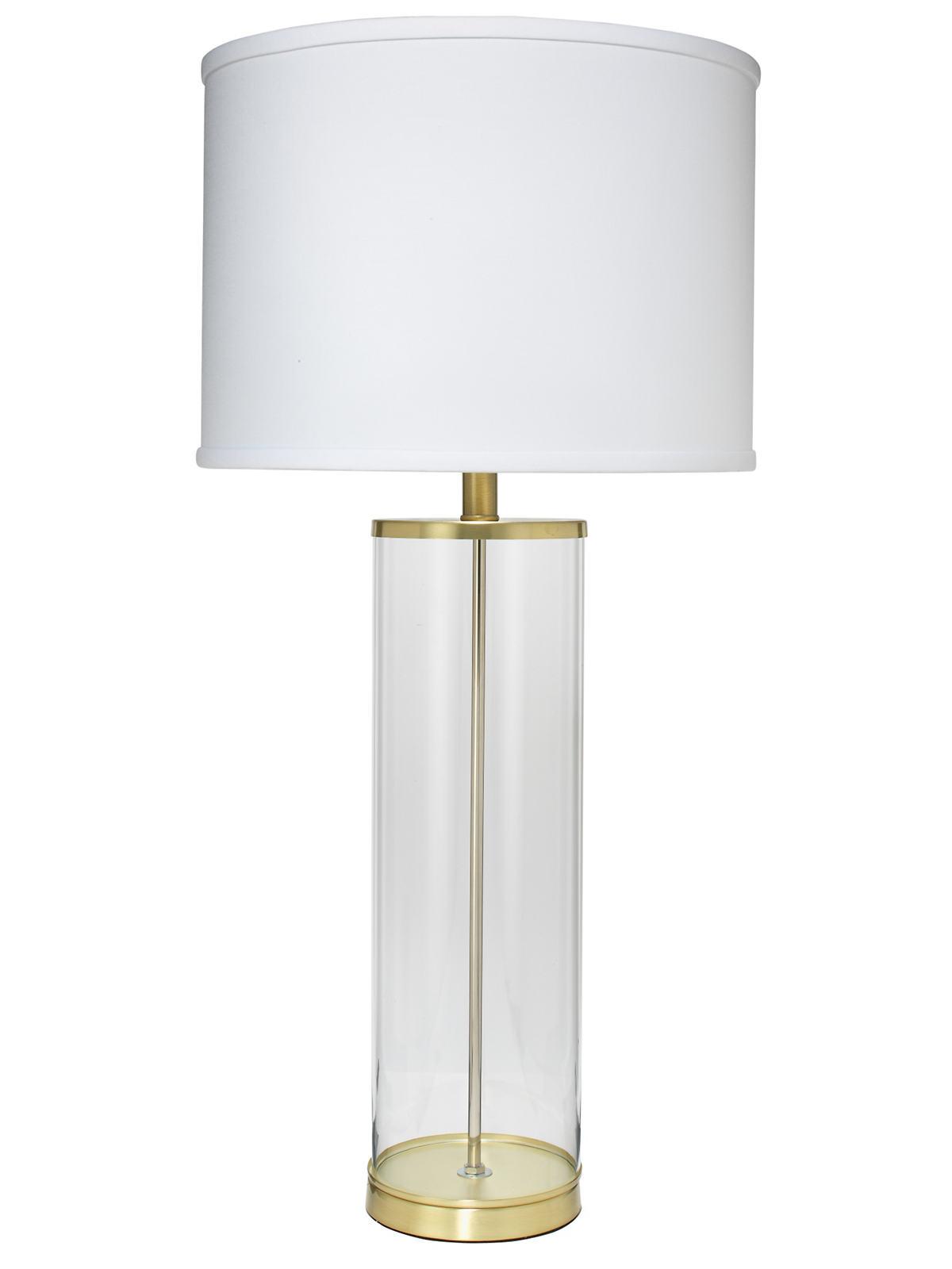 Brass Rockefeller Lamp