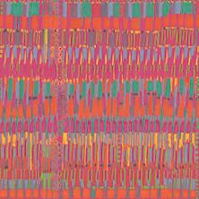 Bright Brushstrokes Art