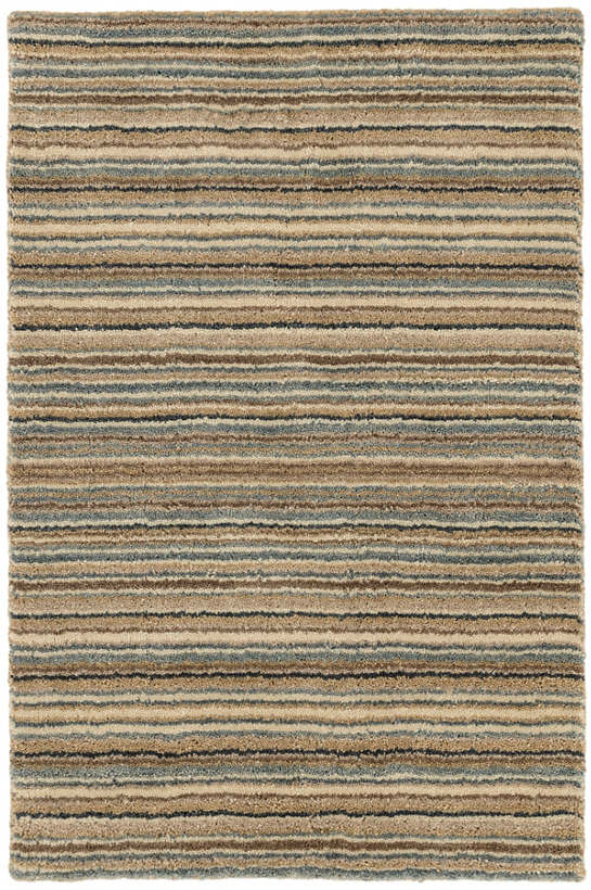 Brindle Stripe Mountain Hand Knotted Rug