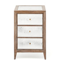 Brownwashed Mia Single Nightstand