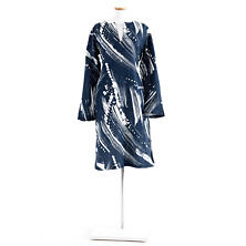 Brushstroke Indigo/White Tunic
