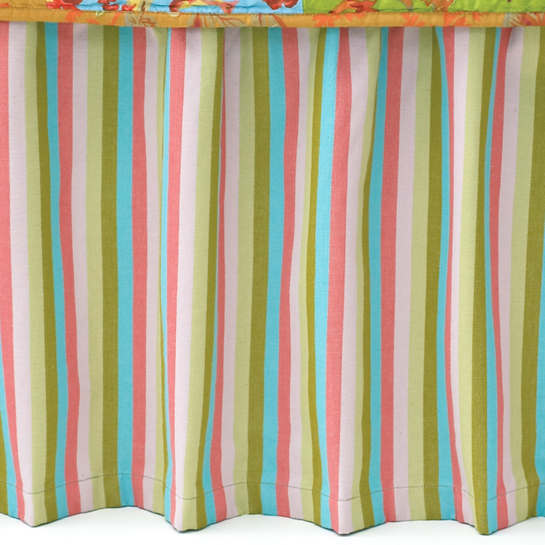 Cabana Stripe Bed Skirt