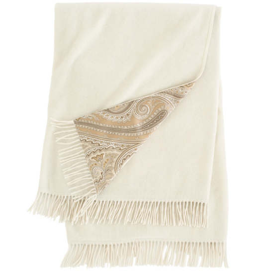 Cachemire Sandstone Throw