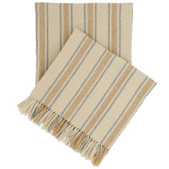 Cambridge Swedish Blue Indoor/Outdoor Throw