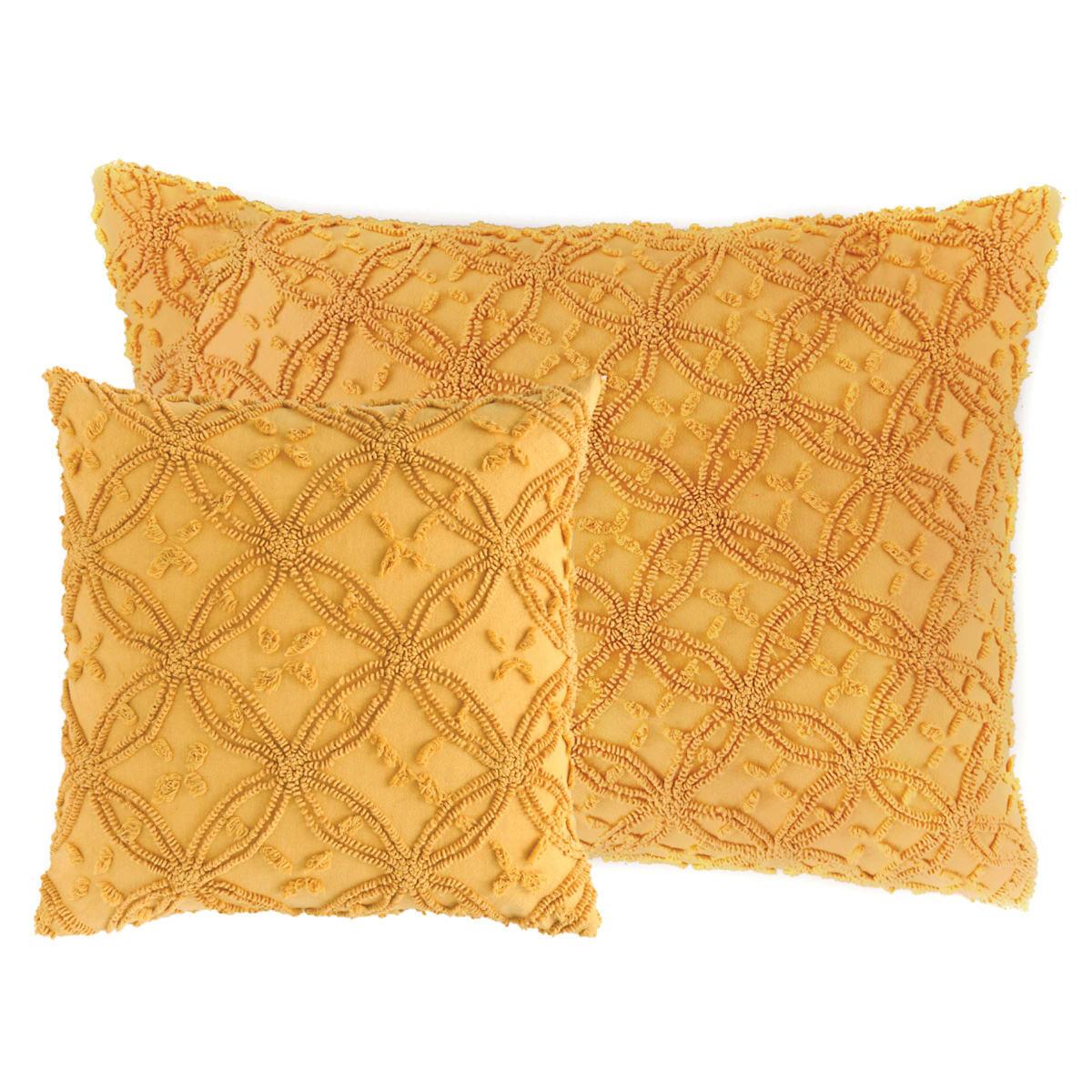 Candlewick Curry Decorative Pillows