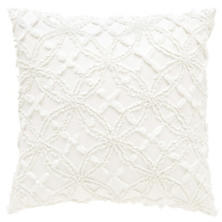 Candlewick Dove White Decorative Pillows
