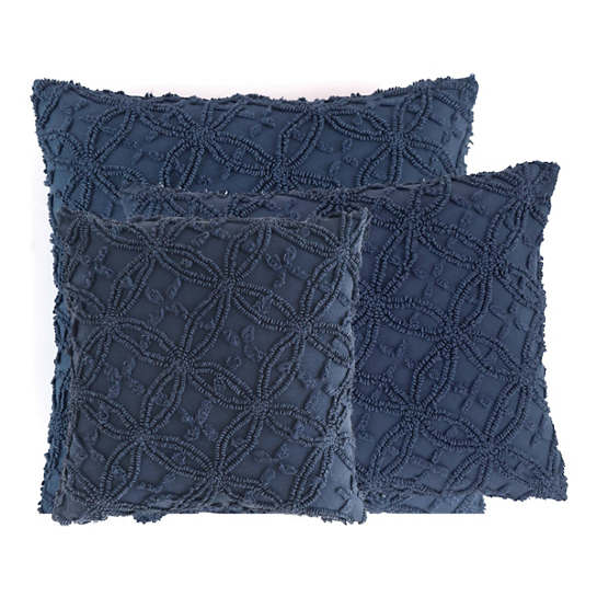 Candlewick Ink Decorative Pillows