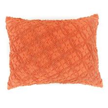 Candlewick Paprika Continental Pillow