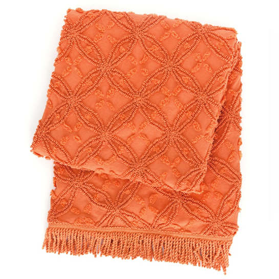 Candlewick Paprika Throw