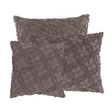 Candlewick Shale Decorative Pillows