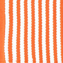 Candy Stripe Tangerine Placemats/ set of 4